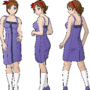 Tuesday js visual novel engine reference character design
