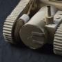 Cardboard Tank (Angle 2)
