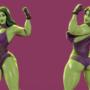 She Hulk on fortnite