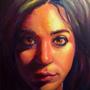 Salma's Portrait by trueWolF