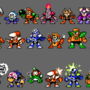 Robot master redesigns (1-10 W.I.P)