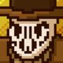 Rorschach pixel art