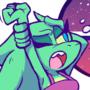 Sleepy Dino