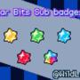 Star bits Sub badges