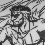 catachan jungle fighter (from warhammer 40k) sketch.