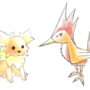 Some fake Pokemon [??? and Chariko]