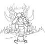 Throne Satan by DreeH