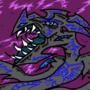Neon gray dragon B590
