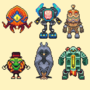funky characters