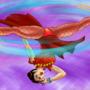 Ming Na Wen Chun Li Spinning Bird Kick