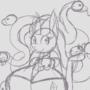 Spooky Hissy Sketch