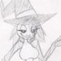 Jack o' Lantern Girl Sketch