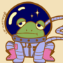 PinTober day 1 - Dejected Space Frog
