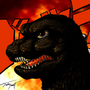 Godzilla 74 by amishjebus