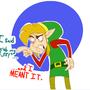 Disgruntled Elf Swordsman by Jayblin