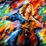 Rainbow Lady by loganhaskin