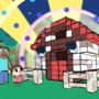 Minecraft x Animal Crossing