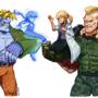 Victor & Jack-X [Tekken x Darkstalkers]