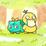PMD Duo Bulbasaur and Psyduck