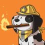 Witch Familiars - (3/16) - Fire Witch's Pyro Dalmatian