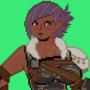 Josy the Warrior Final Fantasy 14 Commission
