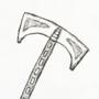 Inktober 2020, Day 5: Blade
