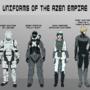 Azen Empire Uniform Sheet