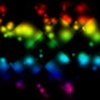 Rainbow Checkers Background by whitetigers18