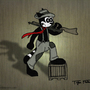 Oscar D. Raccoon by The-Masked-Animator