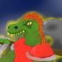 Dinosaur Warrior by Khorde