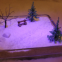 Snow Scene - Friday Flood 4 by Luwano