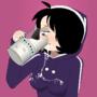 Ps vita chan drinks gamer coom