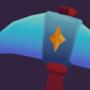 Star themed pickaxe