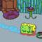 Sponge Bob eats...