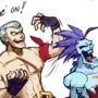 Bryan Fury & Lord Raptor [Tekken x Darkstalkers]