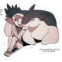 Kris and typhlosion best fren :) (H)