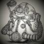 Inktober Day 14: armor
