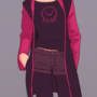 Casual Dark Gwenpool (w Tights)