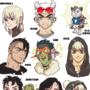 My original characters in pixel art