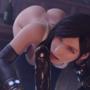 Tifa Blowjob at the Bar Black Final Fantasy Remake