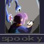 Spooky pixel art