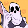A Slutty Ghost Costume