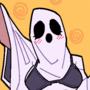 A Slutty Ghost Costume