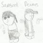 Sanford and Deimos by Nomaron