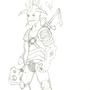 Demon Hunter 001 by moomoocow231