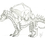Corrupted Dragon by moomoocow231