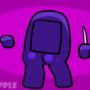 Purple Impostor Booty Shake