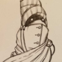 Inktober - Traveler