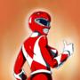 Boobtober Day 21 - Red Ranger