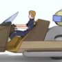visual novel Insurance Agent 3D test